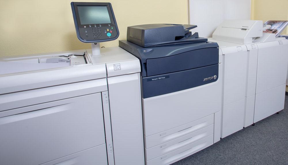 Xerox Versant 180 Digitaldruckmaschine