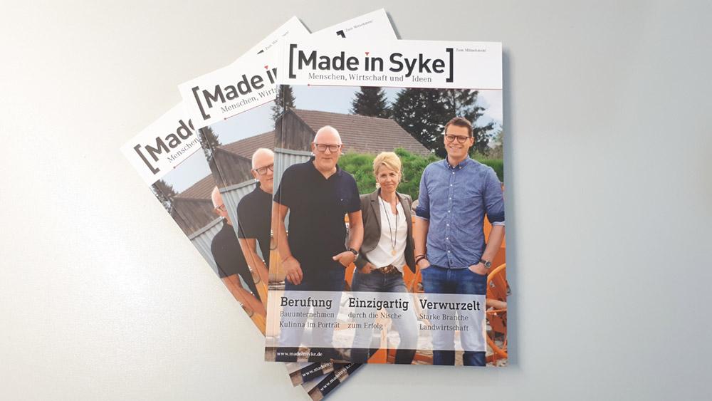 Made in Syke-Magazine auf Tisch